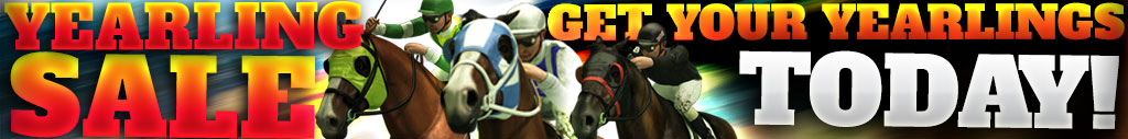 Yearling Sale Now On!